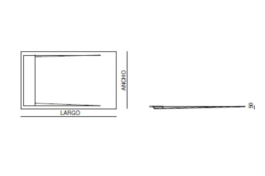 receveur de douche star. Black Bedroom Furniture Sets. Home Design Ideas